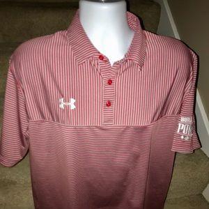 Under Armour WSOP men's casual golf polo shirt - L